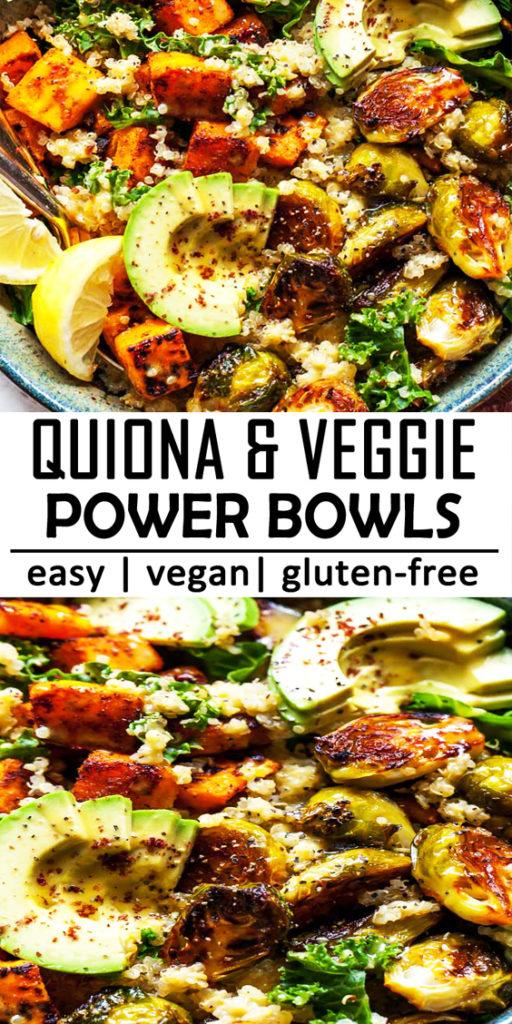 Quinoa and Veggie Power Bowls Recipe