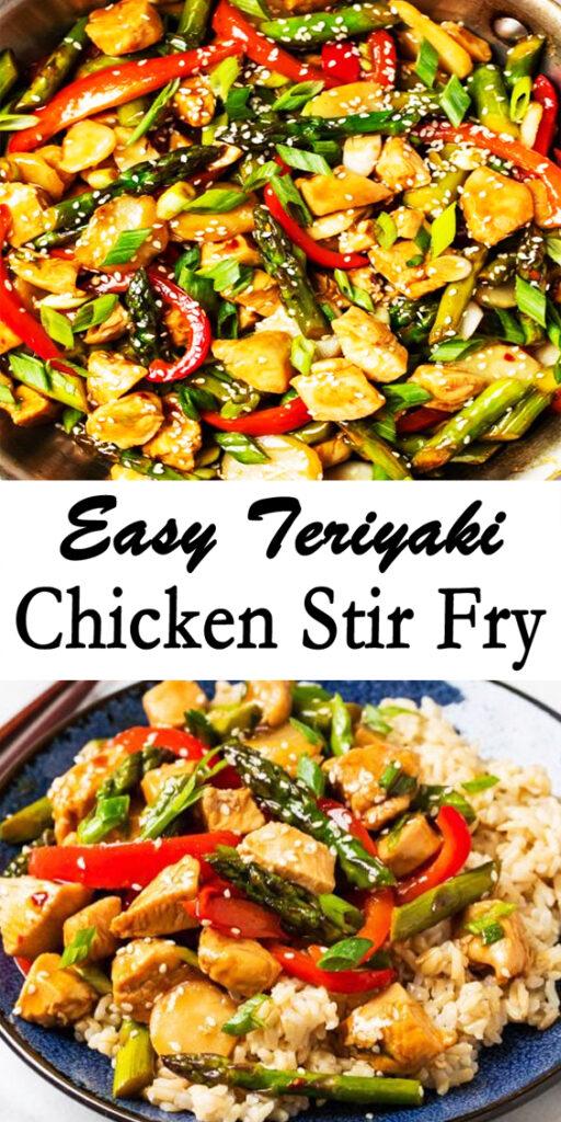 Easy Teriyaki Chicken Stir Fry